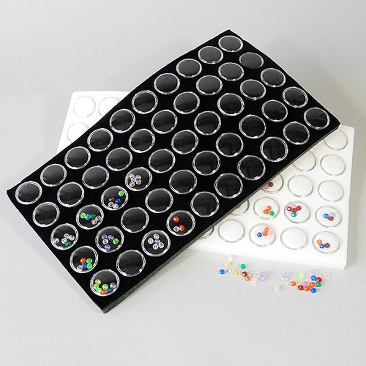 Gemstone Jars/Tray Foam