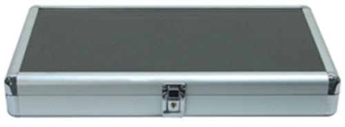 Al831C Glass Top Aluminum Tray Case