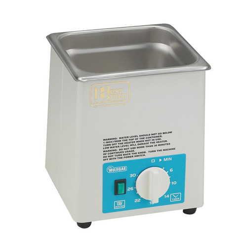 Best Built 1/2 Gallon Pro Ultrasonic With Heater, Timer & Lid