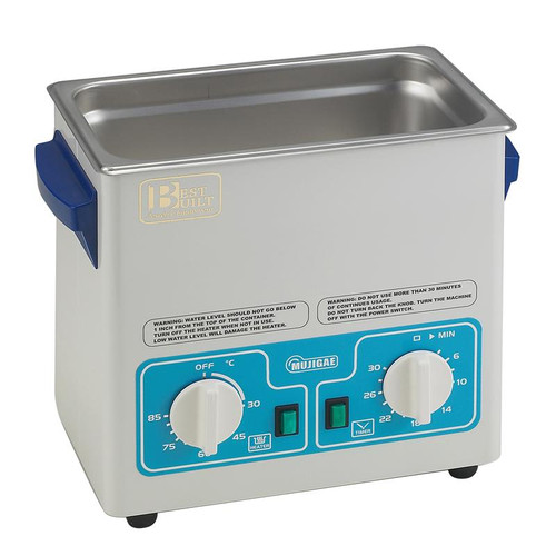 Best Built 3/4 Gallon Pro Ultrasonic With Heater, Timer & Lid