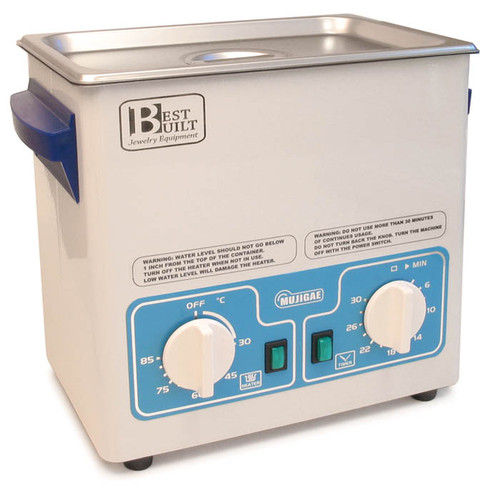 Best Built 1-1/2 Gallon Pro Ultrasonic with Heater, Timer & Lid