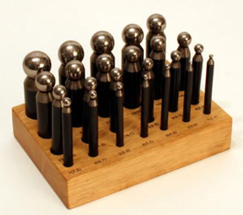 24 Piece Dapping Punch Set