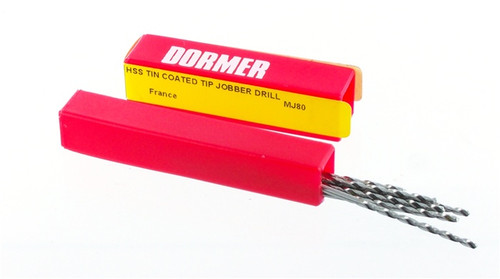 Dormer #51 Twist Drills (Made In France)