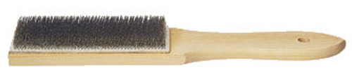 #10 File Cleaner Brush With Wood Handle