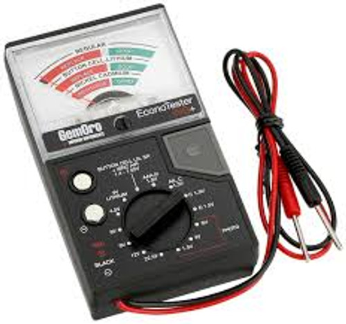 Battery Econo Tester Gemoro