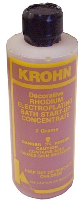 Krohn Rhodium Plating Solution 2 Gram