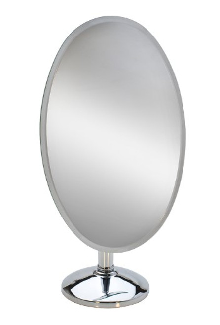 "18"" Large Oval Rimless Mirror Mir-110.03"