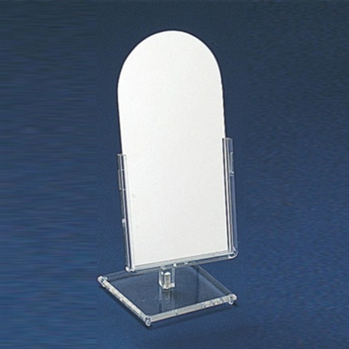 """Counter Top Glass Mirror  6 1/4""""W x 14 1/2""""H , 1801"""