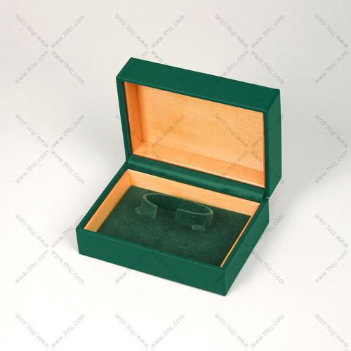 "5""x4"" Deluxe Green Watch Box WB102L-DG"