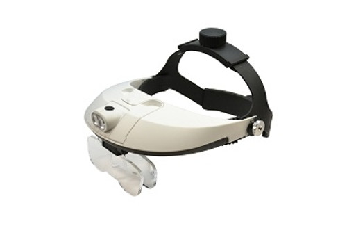 LED Illuminating Magnifier with Two Way Adjustable Headband  29.569