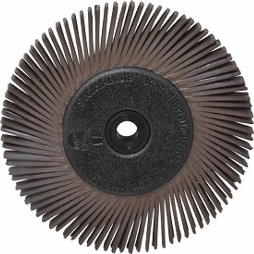 "3M Brown Radial Bristle DIsc 1"" 36 G"