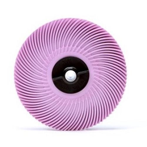 "3M Pink Radial Bristle DIsc 3/4"" Pumine"