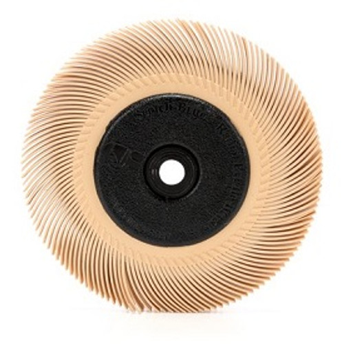 """3M Peach Radial Bristle DIsc 3/4"""" 6 Micron"""