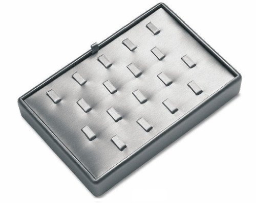 18 Clip Leatherette Tray