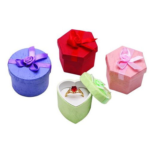Glossy Hat Ring Box