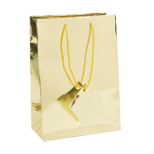 Metallic Gold  Paper Tote Bags