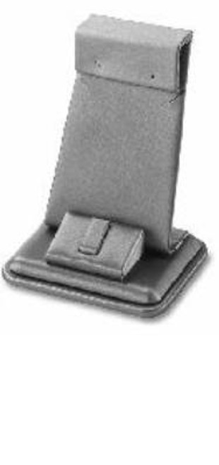 """Earring /Ring Stand Leatherette Display  2 """"x 2 1/2"""" x 4"""""""