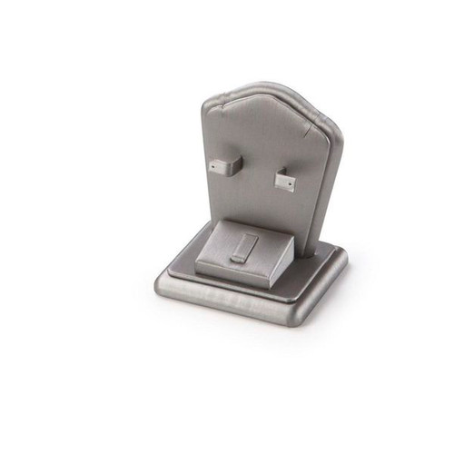 """Ring/ Earring /Pendant Stand Leatherette Display  3 1/2 """"x 3"""" x 4"""""""