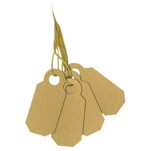 Arch Crown Plastic String Tags