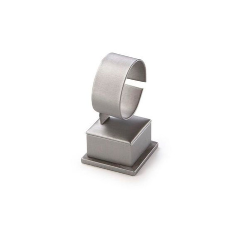 "Short Watch Stand Leatherette Display 2 1/2"" x  2 1/2"" x 4 1/2"""