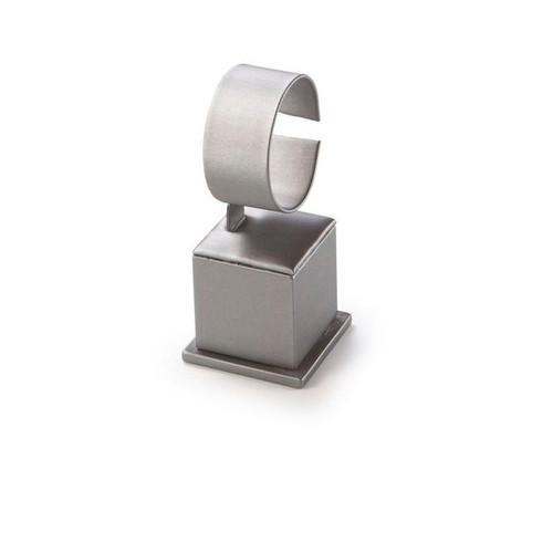 "Medium  Watch Stand Leatherette Display 2 1/2"" x  2 1/2"" x 5 1/2"""