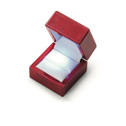 LED Wooden Ring Box