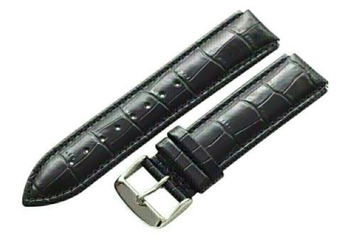 24 MM Premium Genuine Leather Watch Strap