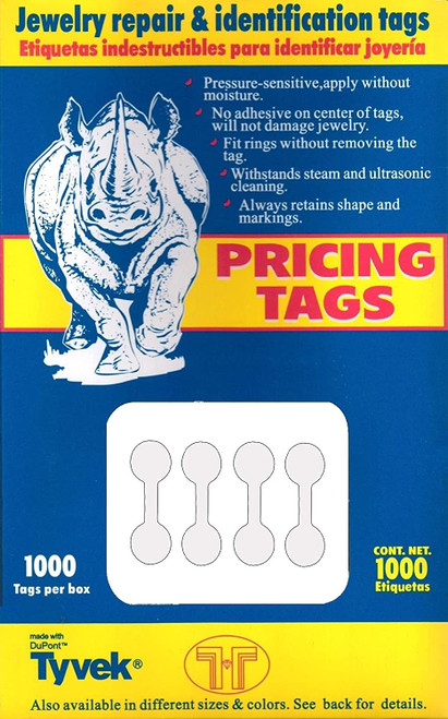 Dumbell Tags (Round)