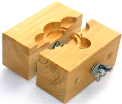 Hardwood case holder