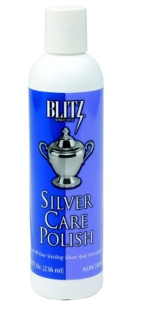 BLITZ Silver Care Polish 80z