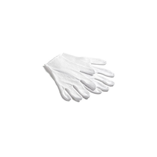 Small Heavy White Cotton Gloves(Pack Of 12)