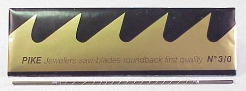 PIKE Sawblades # 1/0  (Swiss)