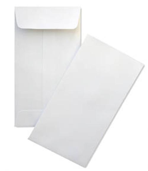 """Coin Envelopes #7 White 3-1/2"""" x 6-1/2"""" (Box of 500)"""