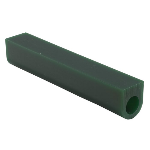 Matt Wax Ring Tubes 1-1/8H X 1-1/8W Flat Top With Hole Green