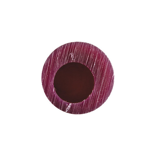 Matt Wax Ring Tubes 1HX1/16W Round Off-Center Hole Purple
