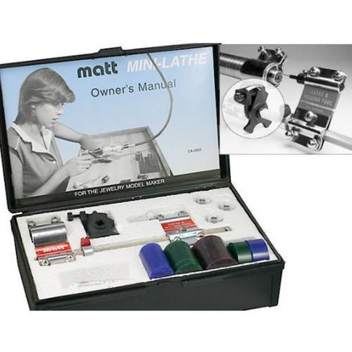 Matt Mini-Lathe With Gauge