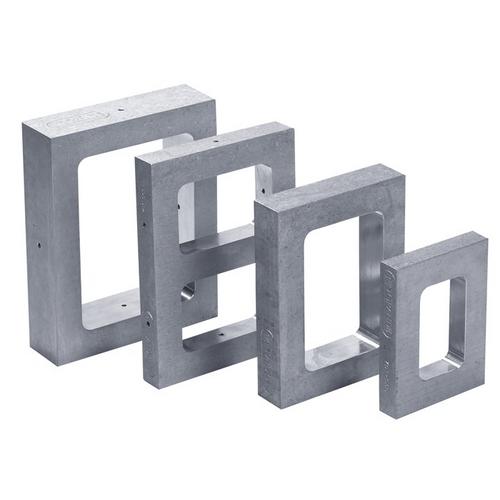 Mold Frame  3–1/2 inch x 4–3/4 inch x 1 inch  Single Style