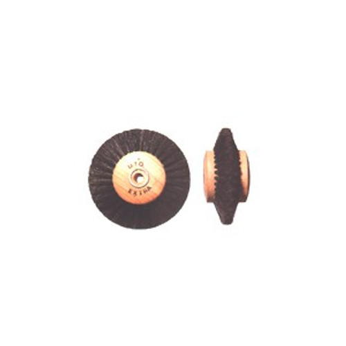 Wood Hub Wheel Converging Brushes (3 inches)