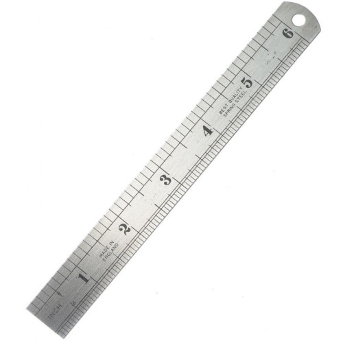 6 inches Stainless Steel Ruler