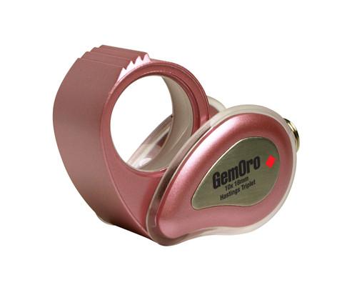 10x  Pink Hastings Triplet VIP Lite Loupe  GemOro