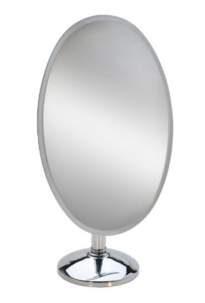 "18"" Large Oval Rimless Mirror Mir-110.03"
