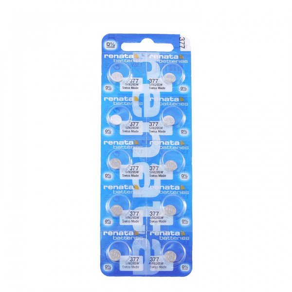 Renata Silver Oxide Batteries Pack of 10