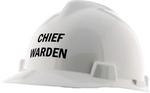 MSA Chief Warden Hard Hat