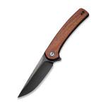 CIVIVI Mini Asticus Cuibourtia Wood Black Stonewashed C19026B-5