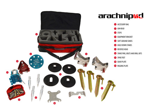 Arachnipod Full Accessory Kit