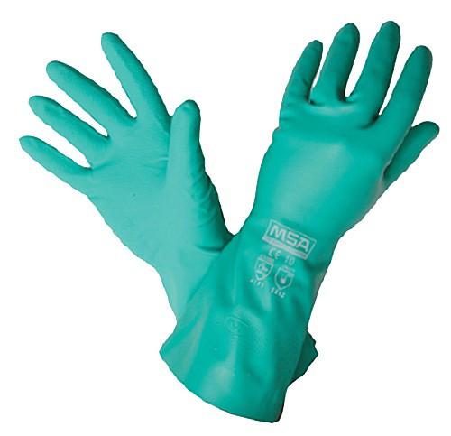 MSA Nitrosolve Flocklined Chemical Gloves