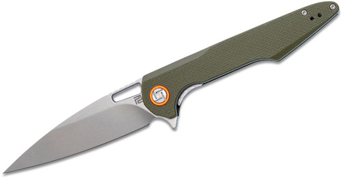Artisan Cutlery Archaeo Linerlock Green 1821PGNF