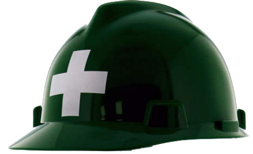 MSA First Aid Hard Hat