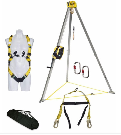 MSA Confined Space Entry Kits With 15 Metre WORKMAN Rescuer