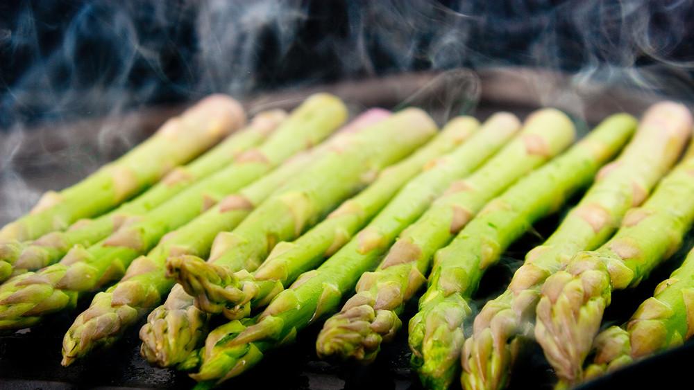 Mr. O's BBQ Asparagus